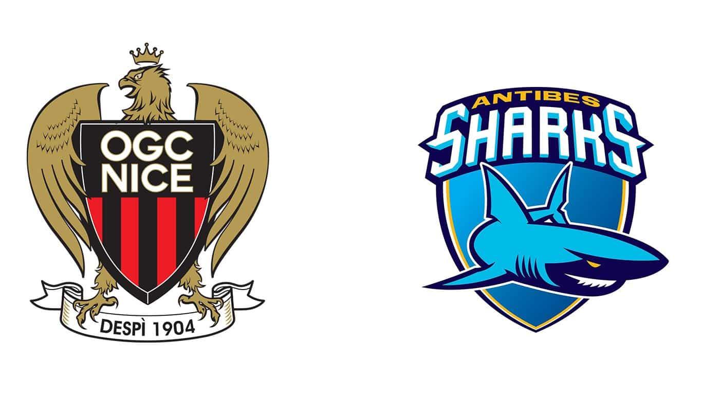 partenaires bet saladino OGC-Nice - Sharks Antibes